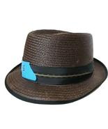 Stetson Fedora Straw Hat Size 7 EUC - £28.62 GBP