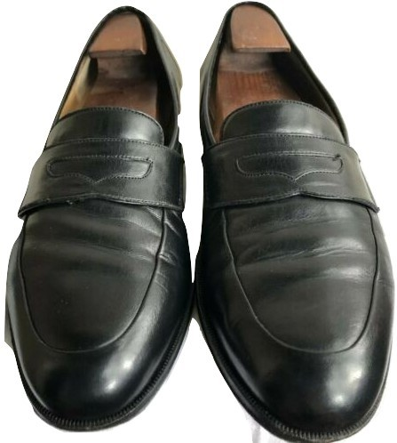 Primary image for Men's Cole Haan Collection Black Leather Penny Loafers Dress Shoes Size 11.5 D