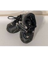 Toddler Baby Nike Shox Black Athletic Shoes Black Silver 488308-007 5C - $21.49
