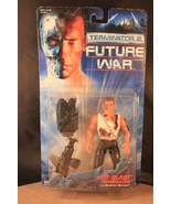 Kenner Terminator 2 Future War Hot-Blast Terminator Vintage Action Figure - $11.88