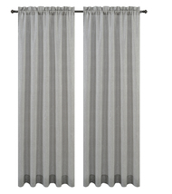 Urbanest Cosmo Set of 2 Sheer Curtain Panels image 4