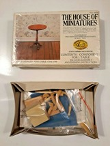 The House of Miniatures Chippendale Table Kit #40074 Dollhouse Furniture - $10.89