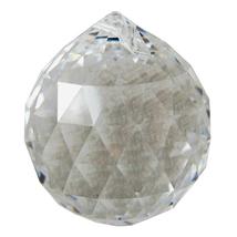 Swarovski 40mm Crystal Faceted Ball Prism image 2
