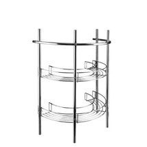Croydex Mild Steel Pedestal Storage Unit with Shelves and Towel Rail - $38.02