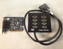 Connect Tech Blue Heat Pc18 65830 Rev D W / 8 Port Breakout Box - $162.49