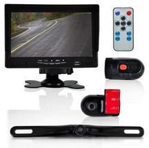 DVR Dash Cam Vehicle Driving Video Camera & Monitor System Kit, Waterpro... - $169.63
