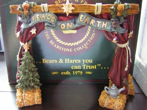 Primary image for Boyds Bears & Friends Nativity Series #4 THE STAGE From The Bearstone Collection