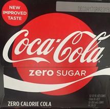 Coke Zero Sugar Soda 12 pack Coca Cola - $22.28