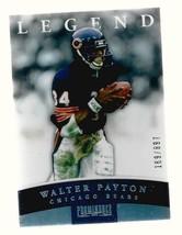 WALTER PAYTON  2012  PANINI LEGENDS  #189/897 card #147    nrmt     - $7.48