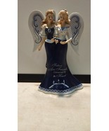 Sisters are friends connected by the heart, blue willow collection - $23.22