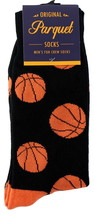Big Basketballs Mens Novelty Crew Socks Casual Cotton Blend Fun Sports F... - $12.95