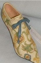 """""""Brocade Court"""" Just The Right Shoe 25002 - $11.15"""