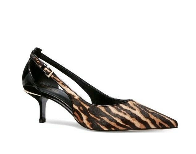 Primary image for MICHAEL Michael Kors Lorena Animal-Print Calf Hair & Leather Pump Size US 8M