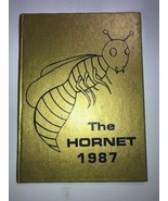Puryear Tennessee TN Yearbook Annual K-8 THE HORNET 1987 - $18.69