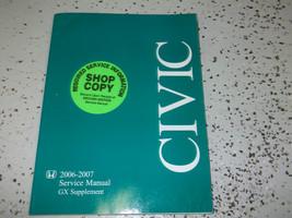 2006 2007 honda civic gx service repair workshop manual oem book supplement - $11.83