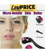 Derma Roller, Cosmetic Microneedle Roller for Face 0.5 mm Micro Needle ⭐... - $5.93
