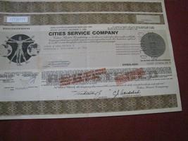 Cities Service Company Bond 1987 $1000 maturity 1989 clean Occidental Pe... - $10.86