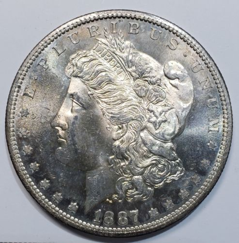 1887S MORGAN SILVER DOLLAR COIN Lot# 818-62