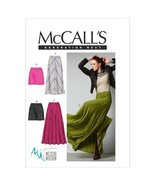 McCall Patterns M6608AX5 Misses' Skirts Sewing Pattern, Size AX5 (4-6-8-... - $14.21