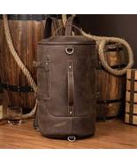 Sale, Vintage Leather Travel Backpack, Shoulder Bag, Designer Backpack - $185.00