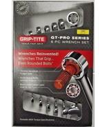 Grip-Tite 00515 6 Piece GT-Pro SAE Wrench Set Tool Open End Chrome Vanadium - $16.83