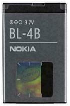 OEM Nokia BL-4B 700mAh 3.7V New Hologram Battery for Nokia 1606 2605 2630 2660 - $9.49
