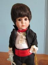 "Marie Osmond  doll Aaron COA  9 1/2"""" tall   Item C11364 MIRACLE CHILDREN - $40.10"