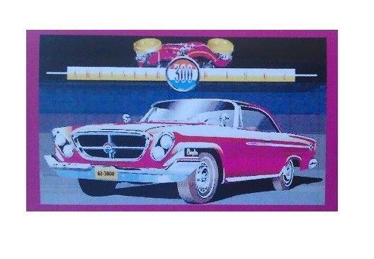 1962 Chrysler 300 - Magnet