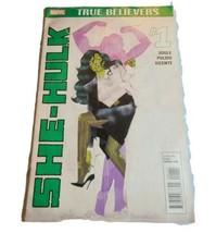 True Believers She Hulk #1 2015 Women Of Marvel Comics - GD - $5.86