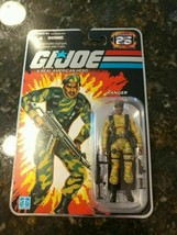 G.I. JOE 25TH ANNIVERSARY SGT STALKER RANGER RARE YELLOW ERROR VARIANT N... - $219.36