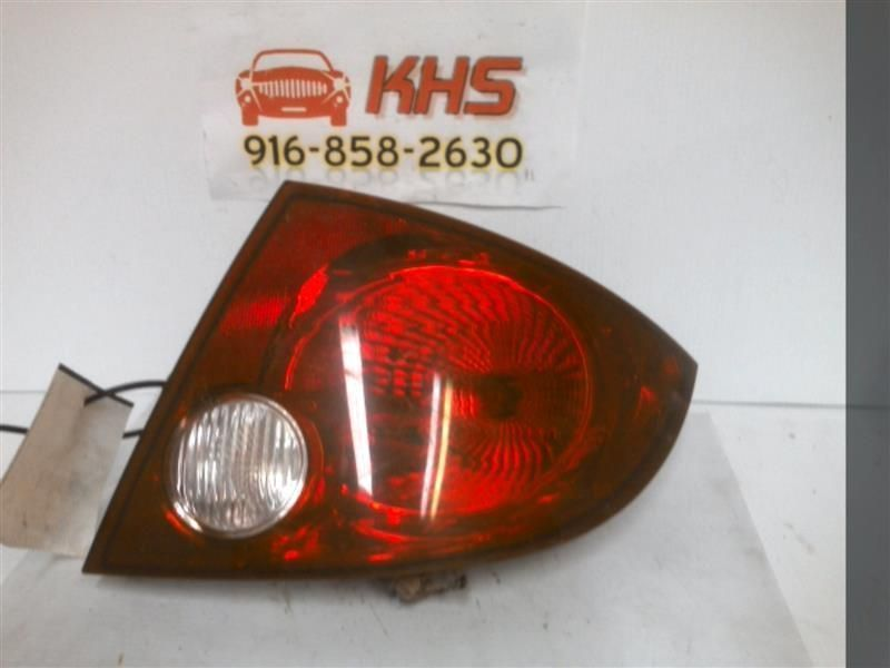Primary image for Passenger Right Tail Light Sedan Fits 05-10 COBALT 233733