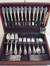 Grande Baroque by Wallace Sterling Silver Flatware Set Service Dinner 76 Pieces - $5,087.25