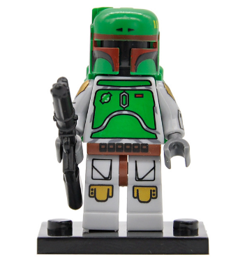 Star Wars New Boba Fett B Set Model Toys Lego Minifigure Building Block 1 PC A for sale  USA