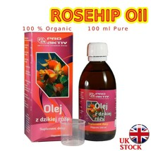 ROSEHIP OIL 100ml Natural Unrefined Cold Pressed 100% Pure Organic Siberian - $14.82