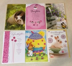 Easter Assorted American Greetings Cards Lot of 6 New Cards -Crafts Scra... - $9.46