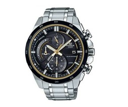 Casio Men's EQS600DB-1A9 Edifice Solar Power Chronograph Watch - $138.59