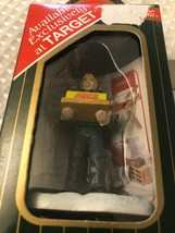 COCA COLA TOWN SQUARE ACCESSORY PIZZA DELIVERY MAN ITEM#CG2418 RETIRED 1997 - $10.77
