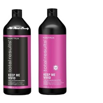 Matrix Total Results Keep Me Vivid Shampoo & Conditioner DUO Liter 33.8 oz - $34.95