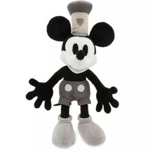 "Disney Store Mickey Mouse Steamboat Willie Medium Plush 15"" - $34.25"