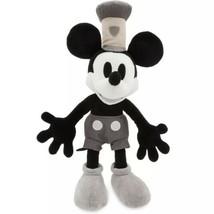 "Disney Store Mickey Mouse Steamboat Willie Medium Plush 15"" - $34.25"