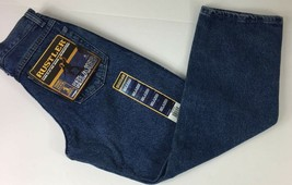 Rustler Relaxed Fit Boys Blue Jeans Size 14 Regular Brand New w/Tags  - $11.87