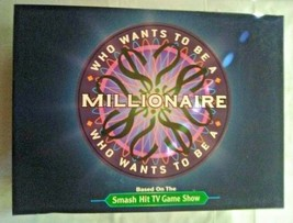 Pressman Who wants to be a Millionaire Board Game from 2000 - $23.76