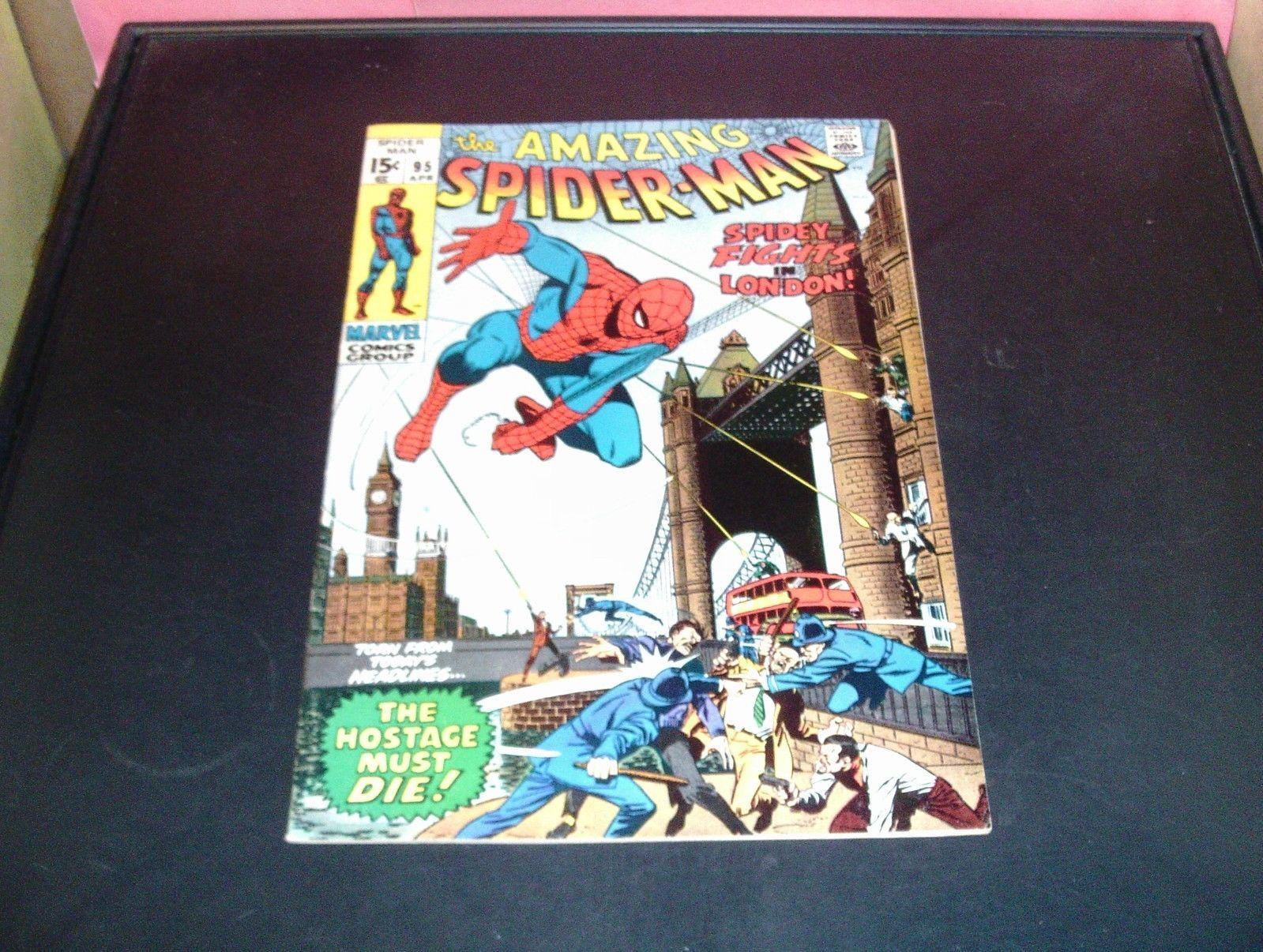 The Amazing Spider-Man #71 Marvel Comic Book 1971 NM Condition (9.2) High End!