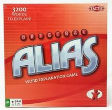 Tactic Original Alias Board Game Word Explanation Family Fun Toy - $17.91