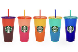 Rare Starbucks Color Changing Cup Summer Pride 2020 Single Cup Or Full Set Of 5 - $29.69+