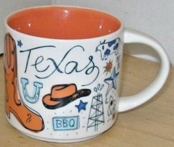 Starbucks 2018 Texas Been There Collection Coffee Mug Brand NEW IN BOX - $29.45