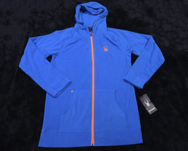SPYDER Boys Full Zipped Hooded Fleece Jacket Size Extra Large XL NWT NEW - $47.96