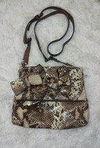 Jessica Simpson Snake Print Crossbody Purse - $17.82
