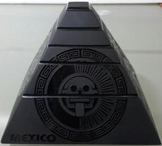 Engraved black obsidian mayan pyramid - $48.00