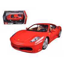 Ferrari F430 Red 1/24 Diecast Model Car by Bburago 26008r - $30.44